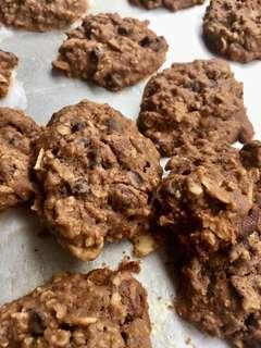Choco Chips Cookies Oatmeal