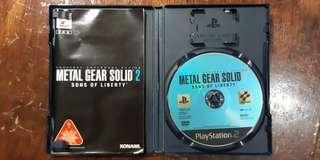 PS2 潛龍諜影 系列 METAL GEAR SOLID