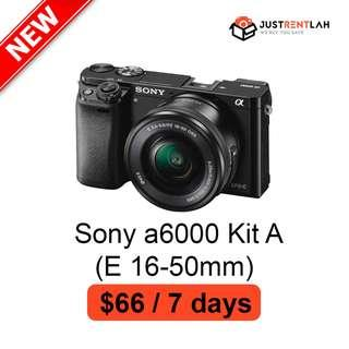 [RENT] Sony a6000 Kit A (E 16-50mm)