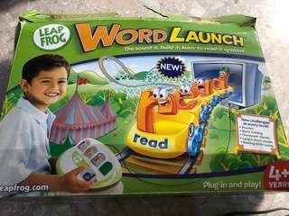 Leapfrog Word Launch