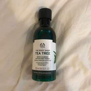 Body Shop Tea Tree Toner (NEW)