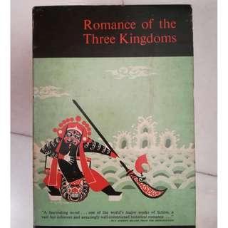 Romance of the Three Kingdoms (Kelly & Walsh, LTD) Vintage Copy