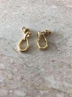 Authentic monet earrings