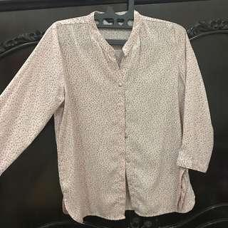 The executive pink blouse