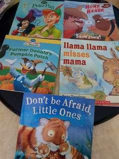Disney books and other heartwarming books