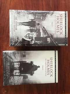 BOOKS! Sherlock Holmes Vol.1 and Vol.2 Complete Novels & Stories