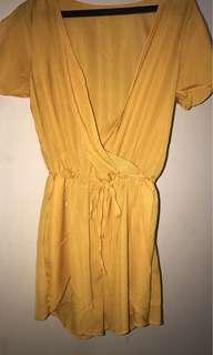 Yellow Dress by Sofia