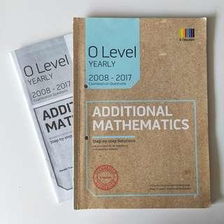 Additional Mathematics Yearly TYS