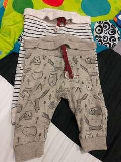 3-6 months baby pants