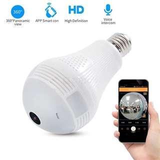 CCTV Lampu Termurah dengan komunikasi 2 arah