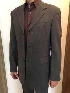 西裝連褲Men's suit (jacket & trousers) 100% wool