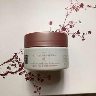 Rituals the Ritual of Sakura body scrub