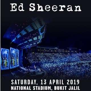 STANDING ZONE ⏤ ED SHEERAN DIVIDE WORLD TOUR 2019