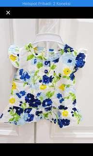 Baju baby bunga