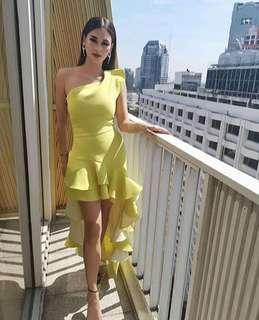 Pia Wurtzbach Inspired Dress