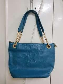 Fashion Purse Bag Teal Green with strap for sling