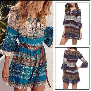 Dress bohemian