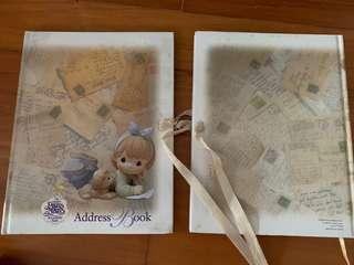 Precious Moments Address Book