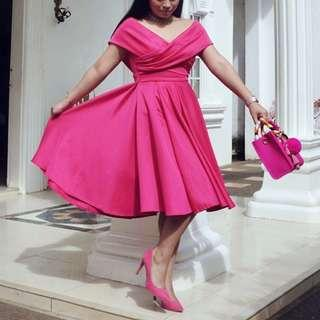 Barbie Pink Neoprene Dress (Apartment 8)