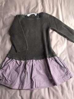 BN l/s knitted top
