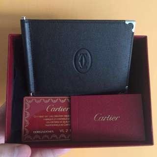 Cartier money clip wallet L3000646 (calfskin) 皮夾