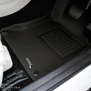 3D Maxpider KAGU Car Mats - Mecedes Benz GLA
