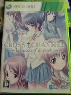 Xbox360 xbox cross channel