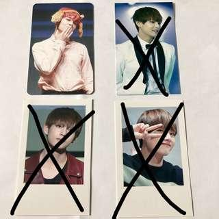 bts v fansites photocards