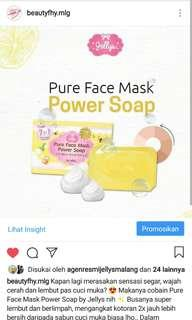 Pure face mask power soap Original Thailand