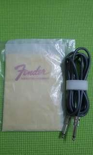 Fender vintage cable and cloth