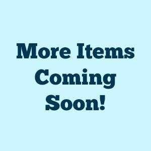 More items soon