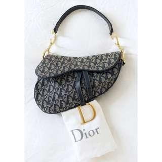 Christian Dior Saddle Bag Vintage