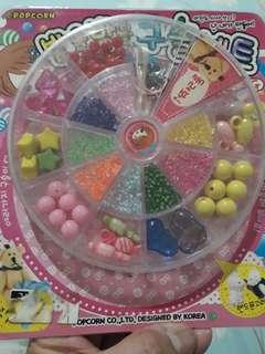 Girls beads and accessories DIY Jewelry Making