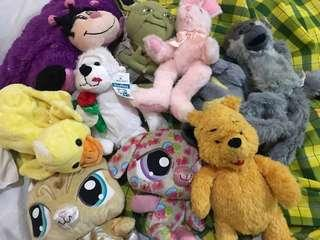 Authentic Stuffed Toys Part1 (TAKE ALL)