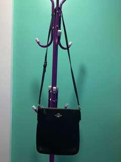 Authhentic Coach Sling Black Leather