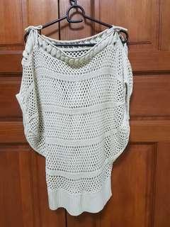 Knitted Top (Beige) #APR75
