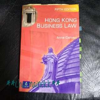 Hong Kong Business Law (5th Edition)  Anne Carver