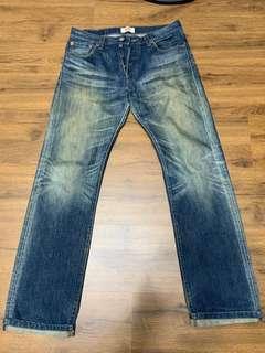 LEVI'S 造型刷色牛仔褲30腰