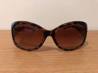 🚚 豹紋 鑽 太陽眼鏡