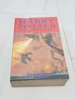Harry Potter and the Goblet of Fire Book/Novel