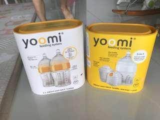 Yoomi Feeding Bottle and Heating Capsule
