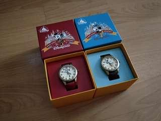 Mickey Mouse and Minnie Mouse Couple Watches