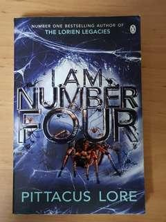 Number Four series by Pittacus Lore