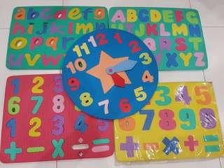 Alphabets and Numbers and Puzzles