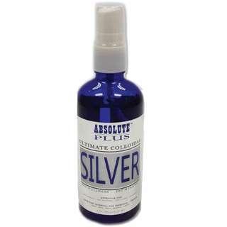 Absolute colloidal silver spray