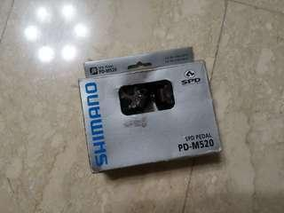 Shimano PD-M520 Clipless Pedals
