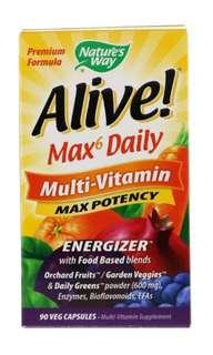 Nature's Way Alive Max 6 daily
