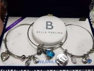 Bella Perlina Sterling Silver Bracelet