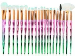 20 pcs Makeup Brush