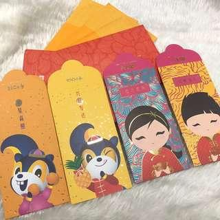 🚚 Red Packets - DBS & POSB (5sets for $6.80)